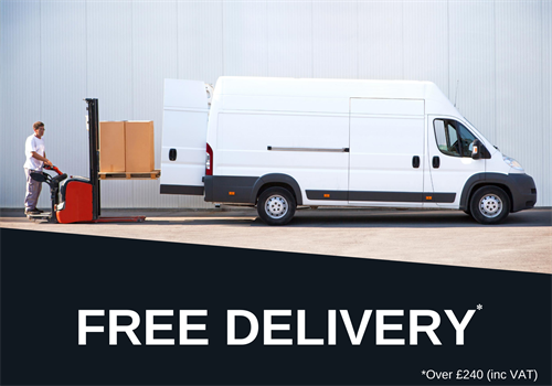 Free delivery over £240 (inc VAT)